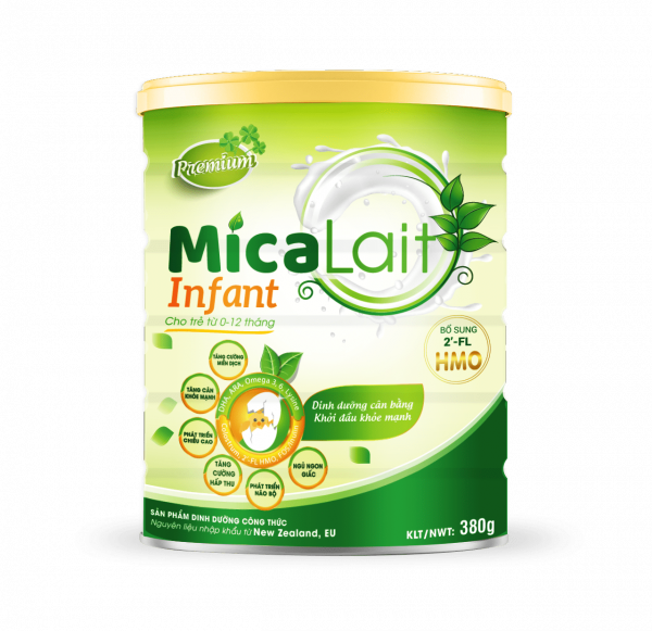 Sữa Micalait Infant giúp trẻ sơ sinh phát triển khỏe mạnh