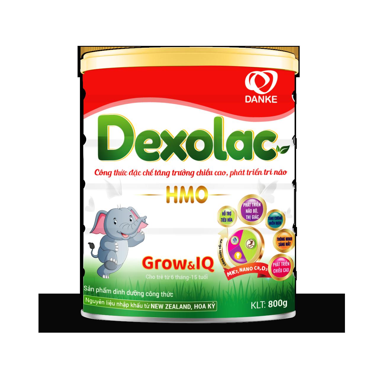 sữa Dexolac Grow & IQ