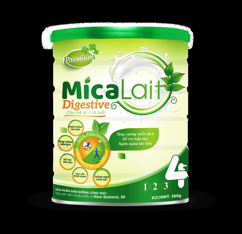 sữa micalait digestive