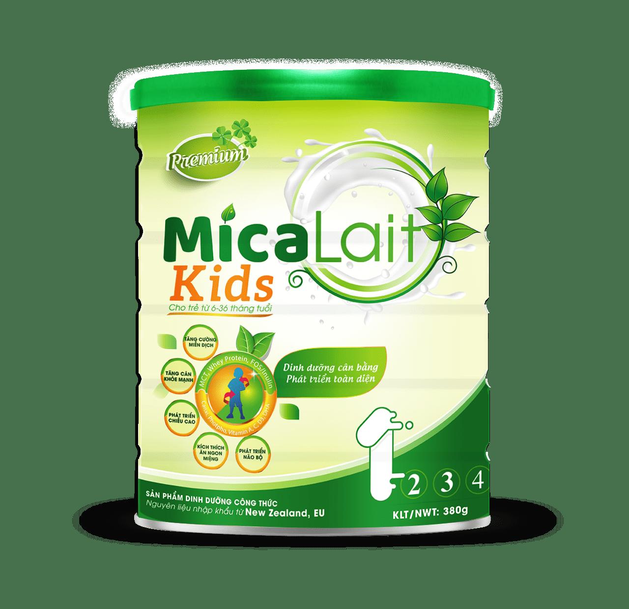 Sữa Micalait Kids