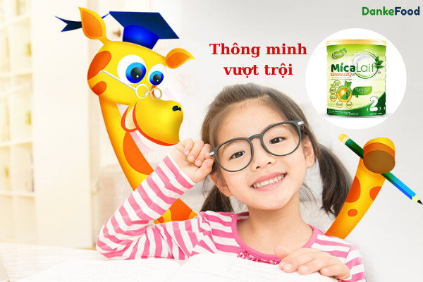 sữa phát triển trí não cho bé 3 tuổi
